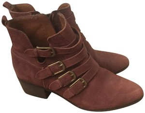 Lucky Brand Brick red Boots