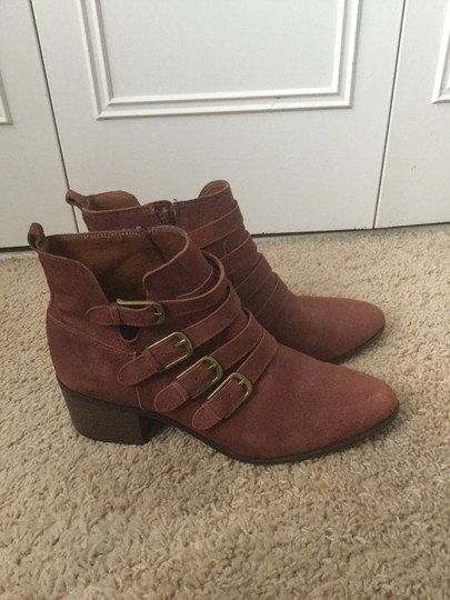 Lucky Brand Brick red Boots Image 4