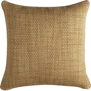 Crate & Barrel Caney Teak pillow covers - Set of 2