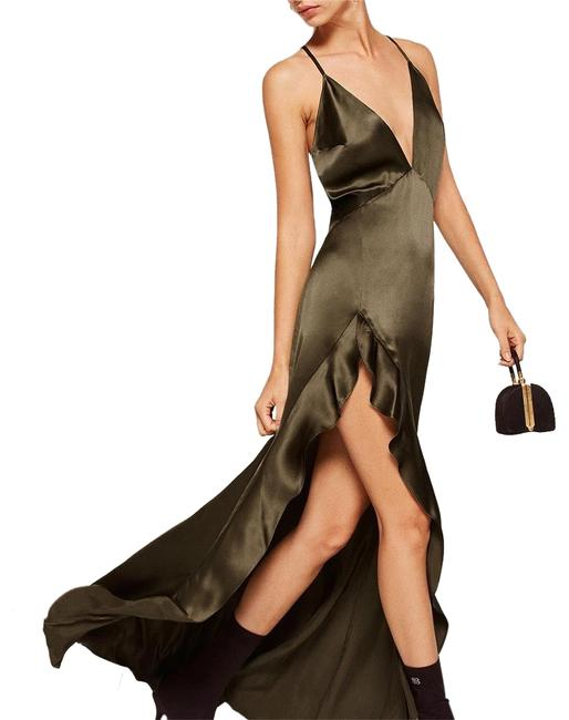 Item - Green Salsa Long Night Out Dress Size 4 (S)