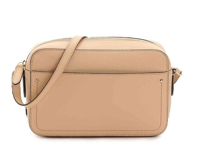 Cole Haan Shoulder Camera Nude Leather Cross Body Bag Cole Haan Shoulder Camera Nude Leather Cross Body Bag Image 1