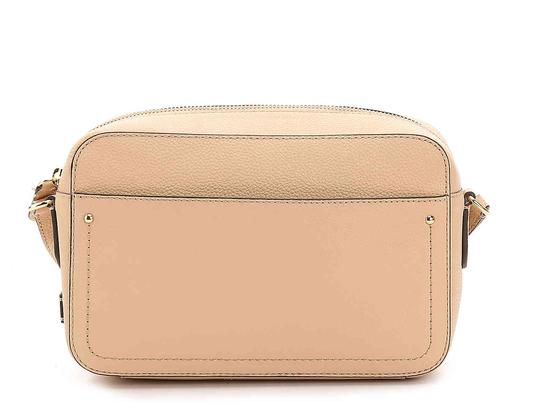Cole Haan Leather Camera Pink Beige Cross Body Bag Image 1