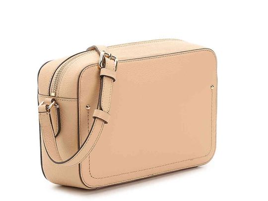Cole Haan Leather Camera Pink Beige Cross Body Bag Image 3
