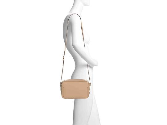 Cole Haan Leather Camera Pink Beige Cross Body Bag Image 2