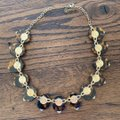 Unknown Tortoise Shell and gem hooked necklace Image 2