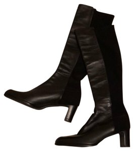 New Stuart Weitzman leather boot in size 7.5 black Boots