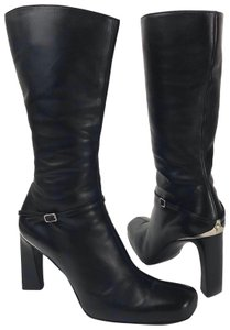 Versace Black and silver Boots