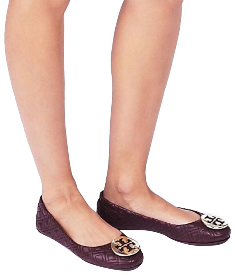 026158882f78 Tory Burch Malbec Quilted Minnie Ballet Flats Size US 10.5 Regular ...