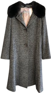 Max Mara Trim Fur Coat