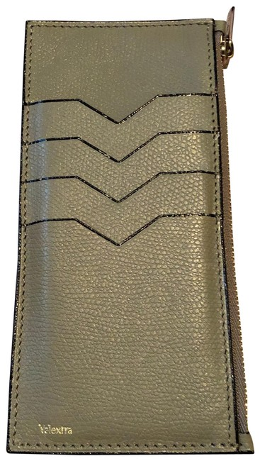 Item - Grey Leather Card Wallet