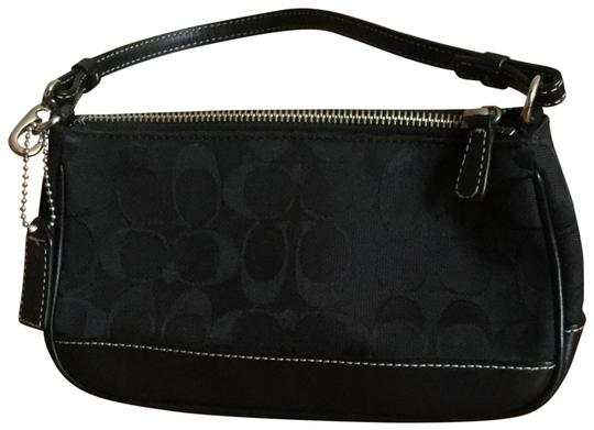 Preload https://img-static.tradesy.com/item/24626410/coach-small-handbag-black-signature-c-print-with-leather-bottom-satchel-0-1-540-540.jpg