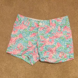 Lilly Pulitzer Shorts Lobstah Roll
