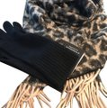 Bloomingdale's 100% Cashmere Scarf and Glove Set