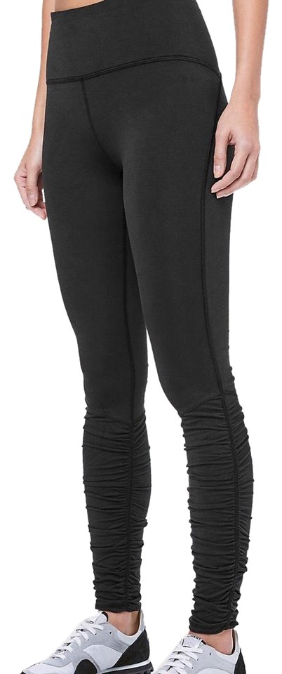 01c66924d7438f Lululemon New Black Ready To Rulu Tight Activewear Bottoms Size 4 (S ...