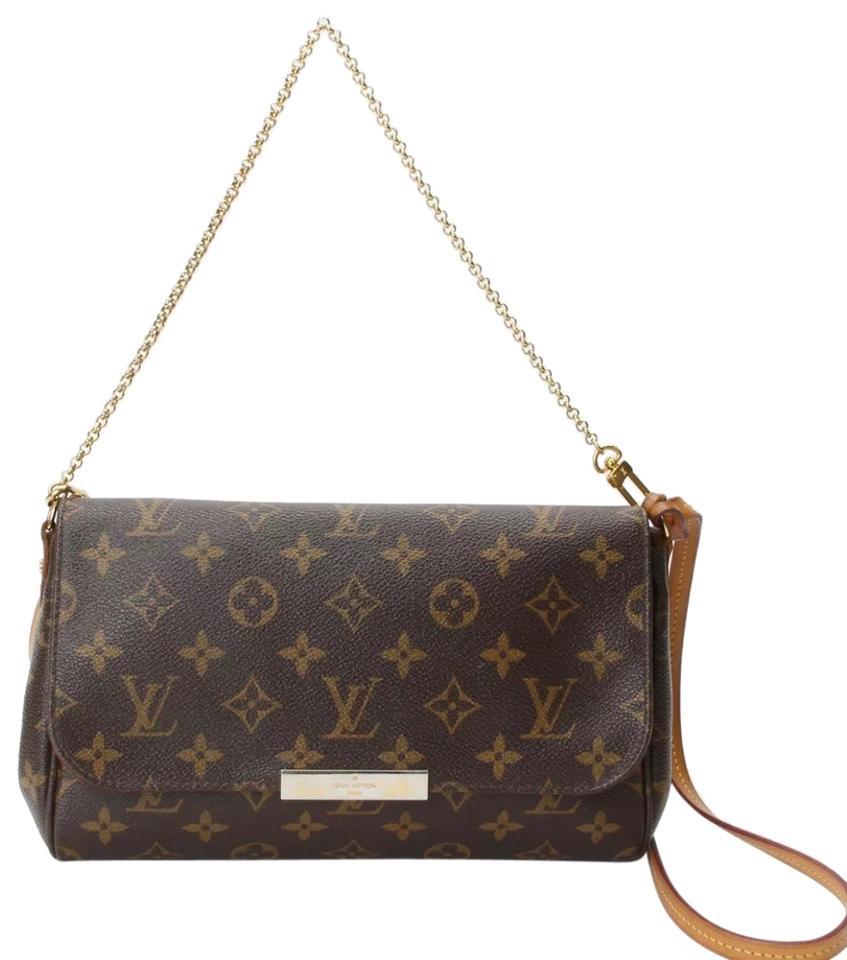 021ccd74 Louis Vuitton Favorite Made In France Mm Monogram Brown Canvas Cross Body  Bag