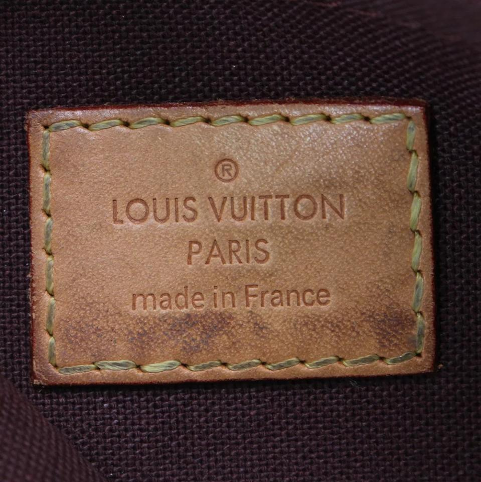 Louis Vuitton Made In France >> Louis Vuitton Favorite Made In France Mm Monogram Brown Canvas Cross Body Bag