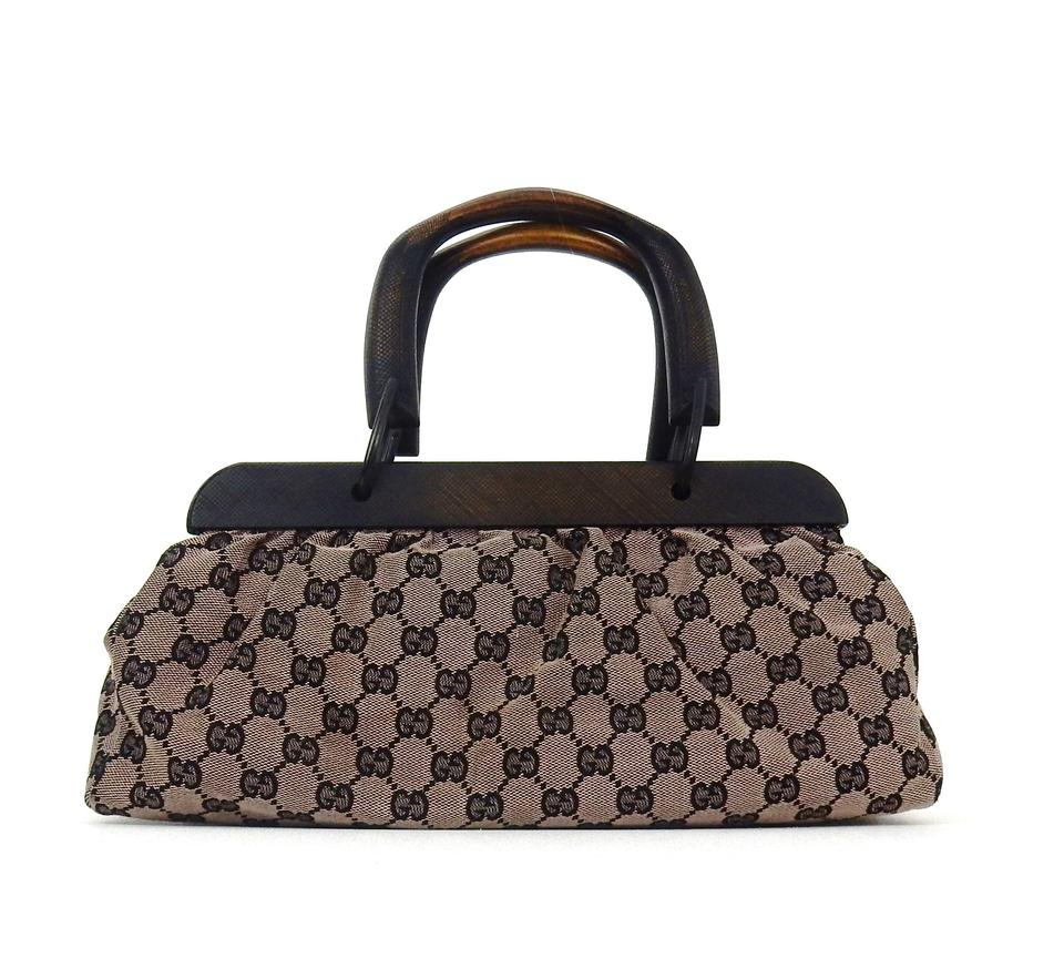 f3031a4707ca Gucci Gg Vintage Monogram Italy Web Tote in Blue Image 0 ...