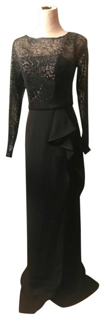 Item - Black Infusion Sequin Gown Long Formal Dress Size 6 (S)