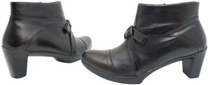 Naot Leather Size 8.5 Ankle 8.5 Short 8.5 Black Boots