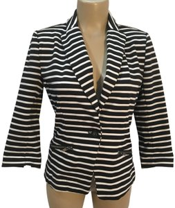 Christian Siriano Black & White Blazer