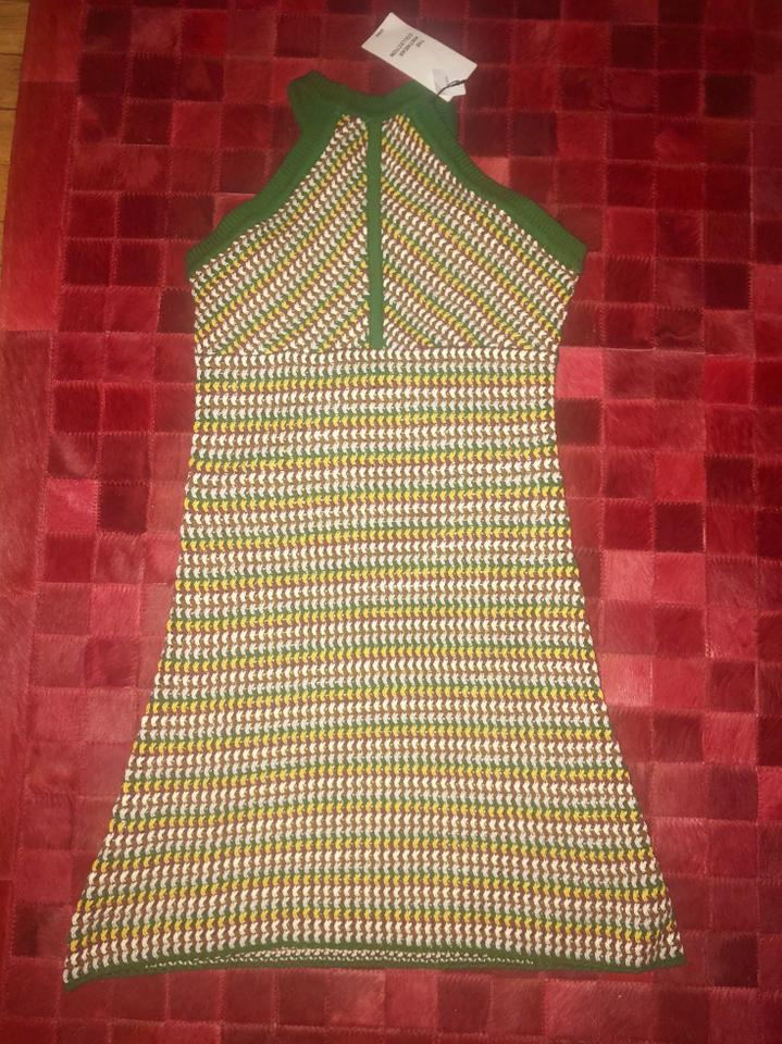 899cff2c Zara Multicolor Knit Short Casual Dress Size 4 (S) - Tradesy