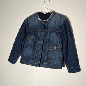 James Perse Blue washed Womens Jean Jacket