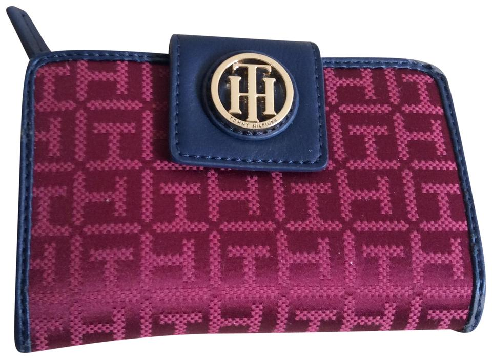 2e6138c2 Tommy Hilfiger Red and Blue Women Wallet - Tradesy