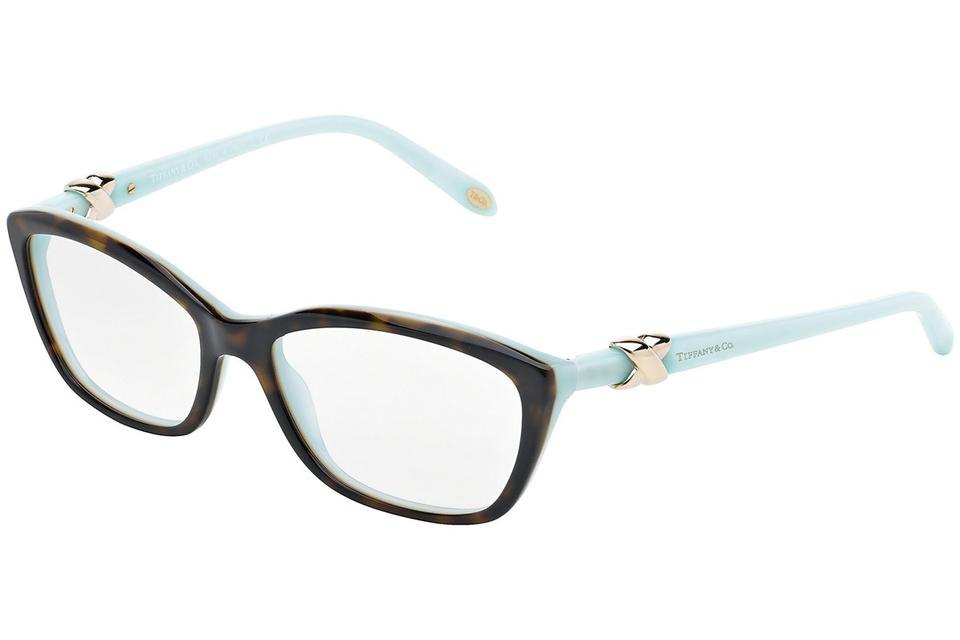 8362ff0c6759b Tiffany   Co. Brown Blue Tf 2074 8134 51mm Rx Prescription Italy Sunglasses