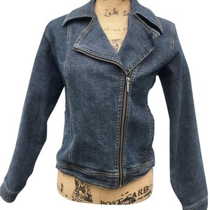 Isda & Co. Denim w/Multi-Color Embroidery on Back Womens Jean Jacket