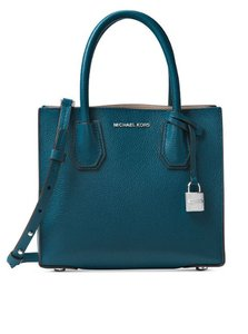 Michael Kors LUX TEAL GREEN Messenger Bag
