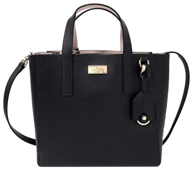 Kate Spade Putnam Drive Mini Nelle Tote Dolce Black Leather Cross Body Bag Kate Spade Putnam Drive Mini Nelle Tote Dolce Black Leather Cross Body Bag Image 1