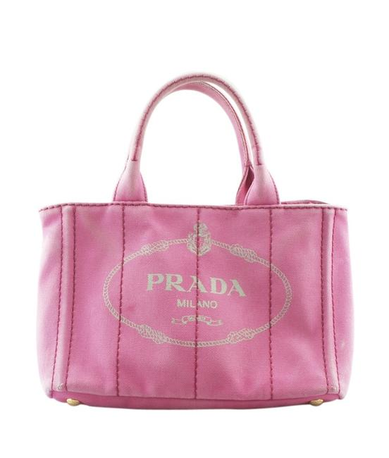 Item - Canapa B2439g Solid (161921) Pink Canvas Tote