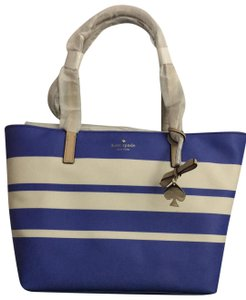 Kate Spade Tote in White and blue