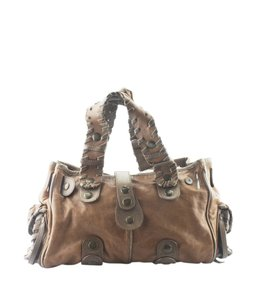 Chloé Bronze-tone Italy Adult Satchel in Leather
