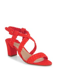 Paul Andrew Red Sandals