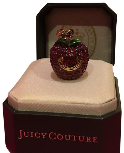 Juicy Couture Red PavÉ Stone Apple Charm Juicy Couture Red PavÉ Stone Apple Charm Image 1