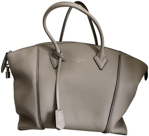 Grey Louis Vuitton Satchels - Up to 90% off at Tradesy c1a0770357f85