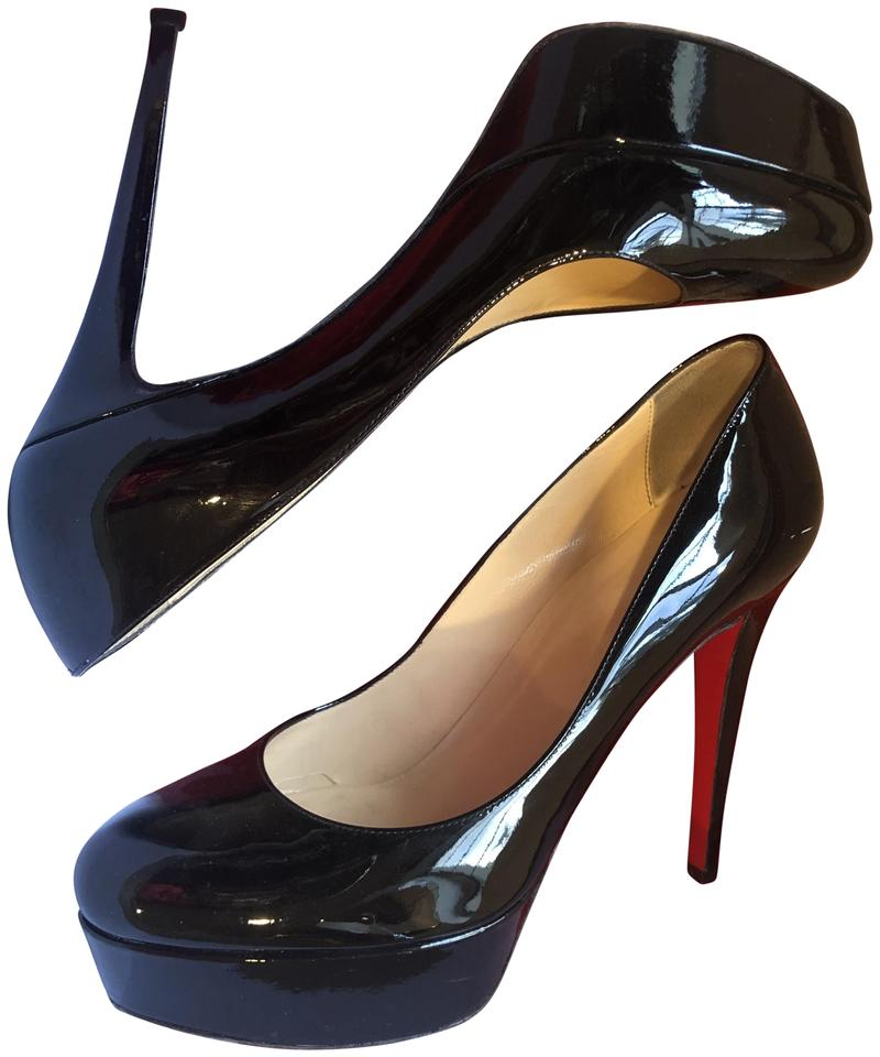 ad55c015f2b Christian Louboutin Black Bianca 120 Patent Calf Pumps Size EU 39 (Approx.  US 9) Regular (M, B) 75% off retail