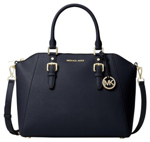 Michael Kors Satchel in Admiral/ Gold