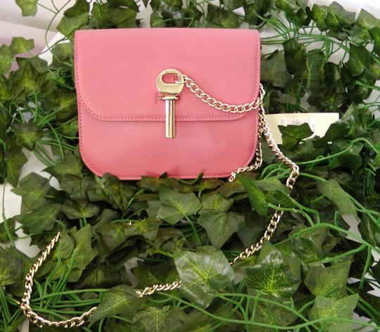 Topshop Leather Cross Body Bag Image 1