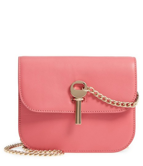 Topshop Leather Cross Body Bag Image 4