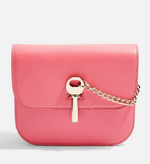 Topshop Leather Cross Body Bag Image 5