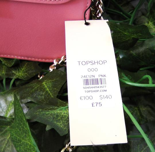 Topshop Leather Cross Body Bag Image 6