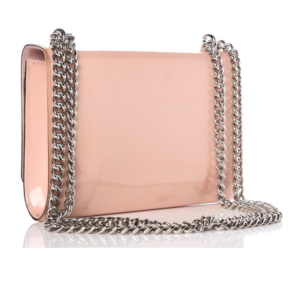 c1eec3265cf Louis Vuitton Louise Mm Lv Vernis Rose Ballerine Chain Pink Patent Leather  Cross Body Bag - Tradesy