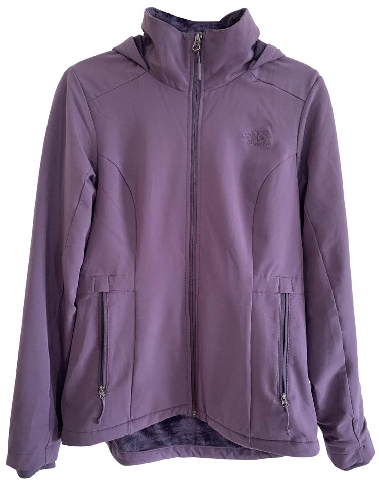 5ace5e4f03 The North Face Purple Women s Shelbe Raschel Hoodie Jacket Size 8 (M ...