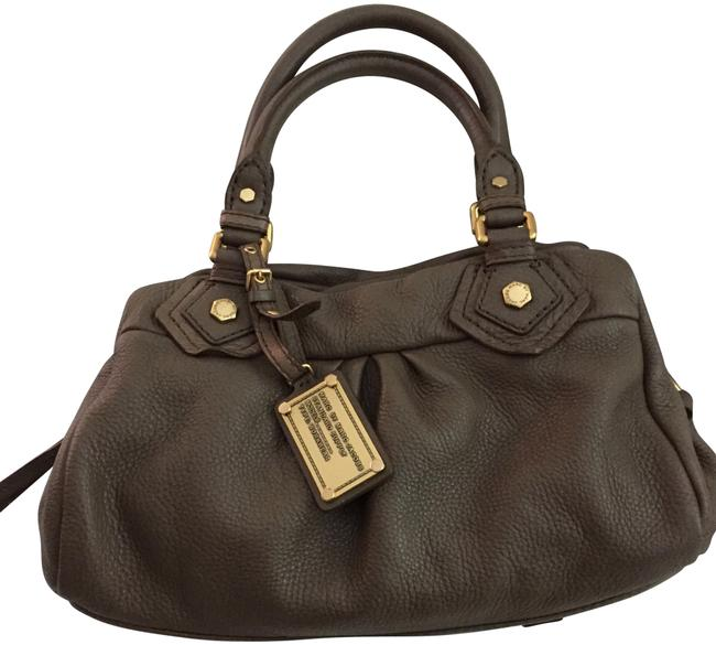 Marc by Marc Jacobs Small Groovee Khaki Leather Satchel Marc by Marc Jacobs Small Groovee Khaki Leather Satchel Image 1
