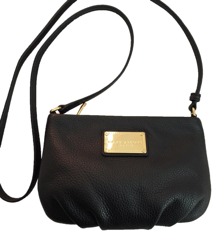 fa27062d0ab Marc Jacobs By Small Black Leather Cross Body Bag