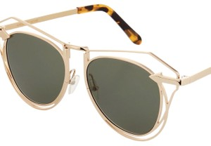 ba5545c3e46 Gold Karen Walker Sunglasses - Up to 70% off at Tradesy