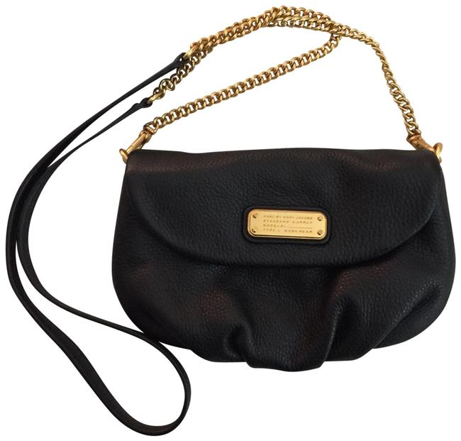 Marc by Marc Jacobs New Q Karlie Black Leather Cross Body Bag Marc by Marc Jacobs New Q Karlie Black Leather Cross Body Bag Image 1
