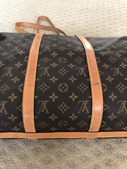 Louis Vuitton Brown Travel Bag Image 6